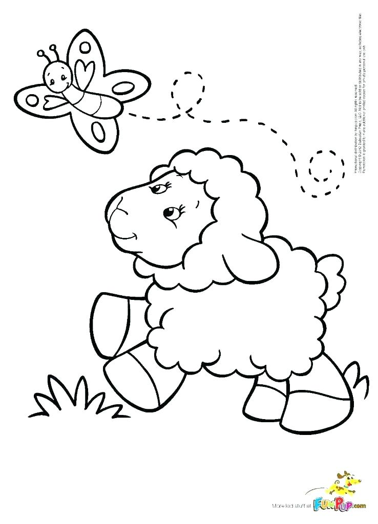 738x1024 Lamb Coloring Pages Easter Lamb Coloring Pages