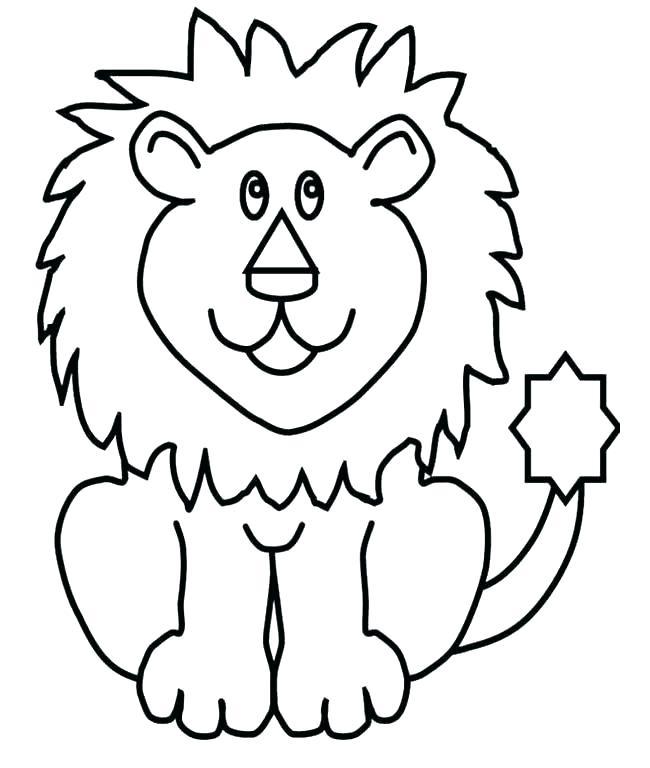 650x768 Lion Face Coloring Page Lion Face Coloring Pages Lion And Lamb