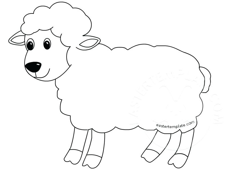 808x595 Mary Had A Little Lamb Coloring Page Lion And Pages Best