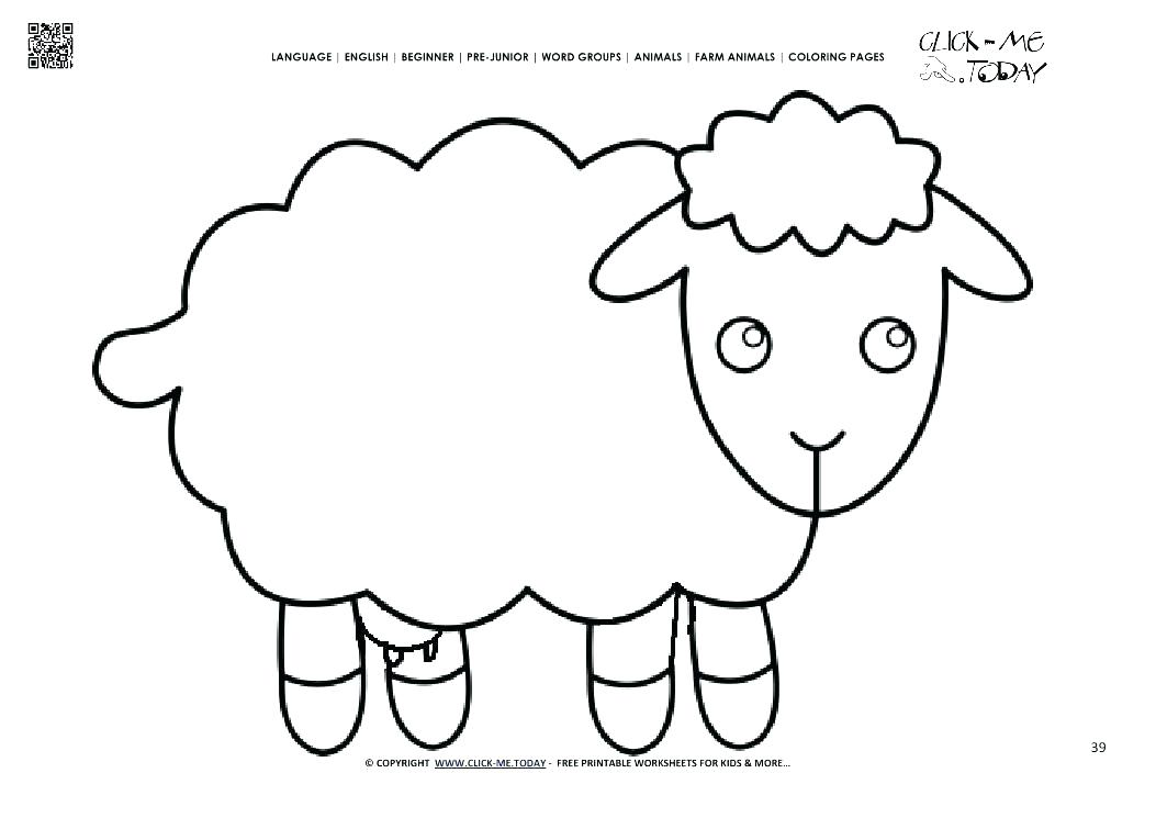 1053x745 Coloring Page Lamb A Little Lamb Coloring Page Free Coloring Page