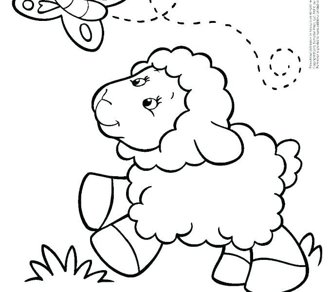 678x600 Coloring Page Lamb Lamb Coloring Page Sheep Coloring Page Lamb