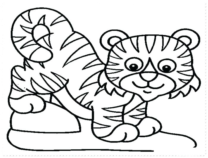 700x532 Tiger Printable Coloring Pages Coloring Pages Of Tigers Coloring