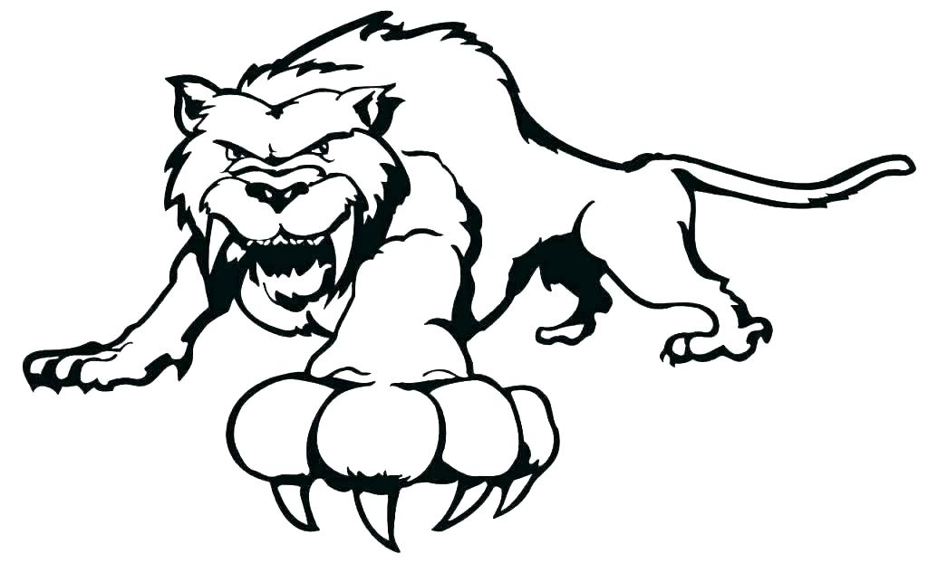 1024x633 Tiger Printable Coloring Pages Printable Tiger Coloring Pages