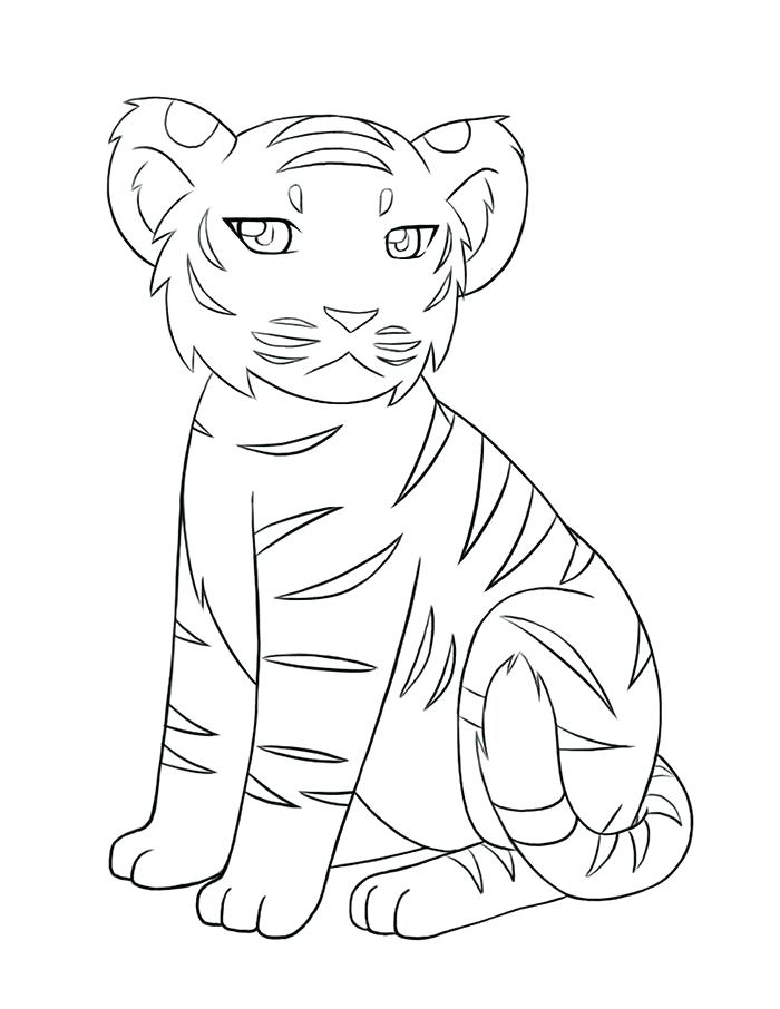 700x906 Tiger Shape Templates Crafts Colouring Pages Free Preschool Tiger