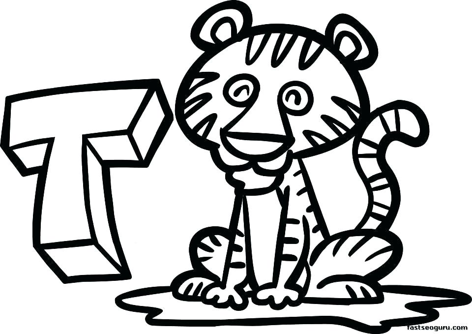 960x679 Coloring Pages Of Tigers Ing S Ing S Ing S S Coloring Pages Tiger