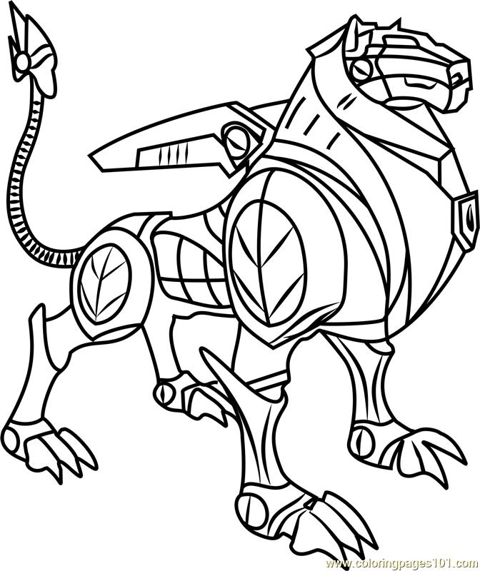 672x800 Black Lion Coloring Page
