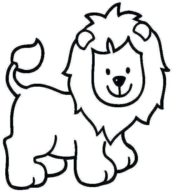 554x617 Free Printable Lion Coloring Pages For Kids Color Print