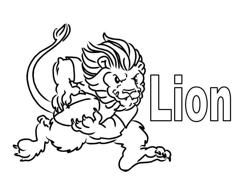 960x720 Free Printable Lion Coloring Pages For Kids
