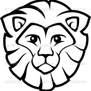 300x300 Fresh Coloring Pages Lion Head