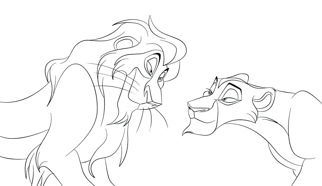 1024x593 Lion King Coloring Page Lion King Coloring Pages Lion King