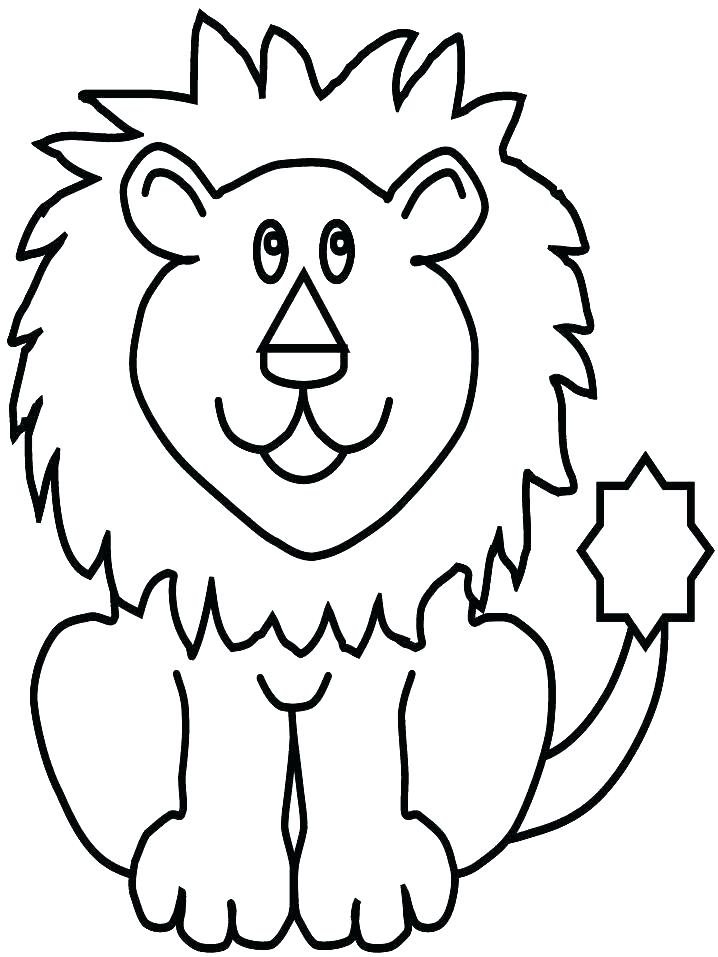 718x957 Lion Coloring Pages Printable