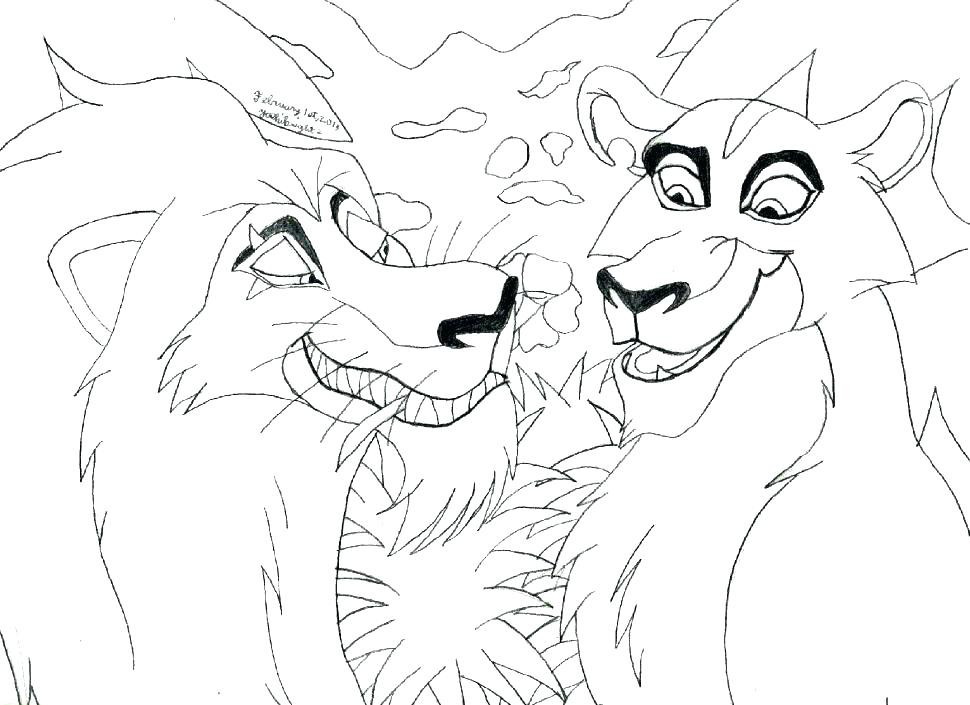 970x705 Mountain Lion Coloring Pages Lion Coloring Pages Free Lion King