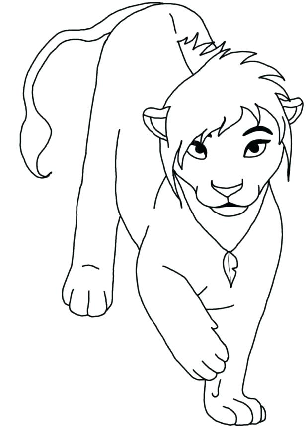 618x856 Between The Lions Coloring Pages Lion Lion Coloring Page Free