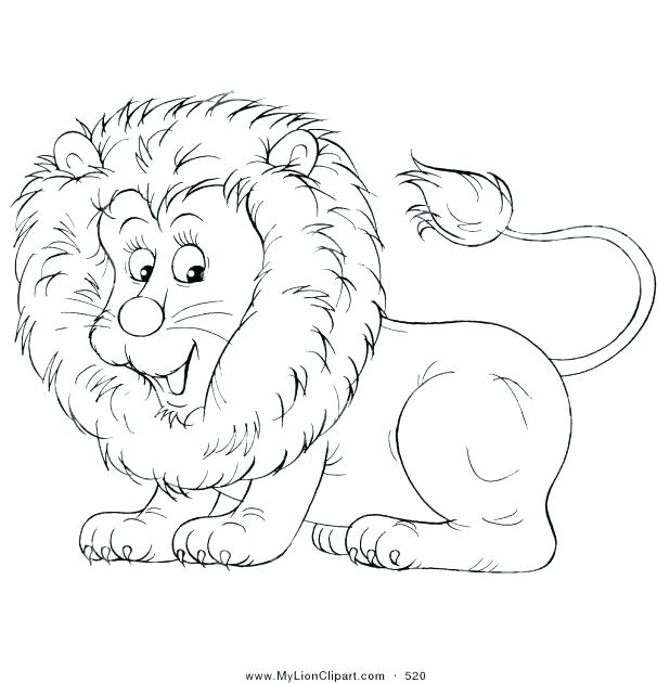 618x630 Coloring Page Of Lion Mountain Lion Coloring Pages Of A Coloring