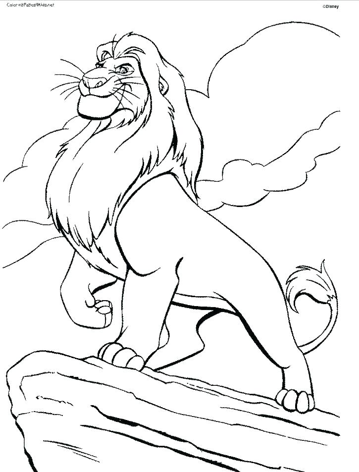725x953 Lion King Printable Coloring Pages Lion King Printable Coloring