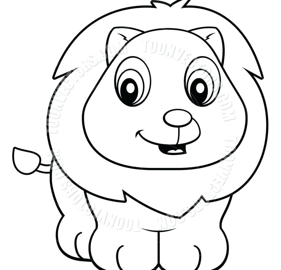 900x864 Baby Lion For Kids Outstanding Colouring Cute Baby Lion Coloring