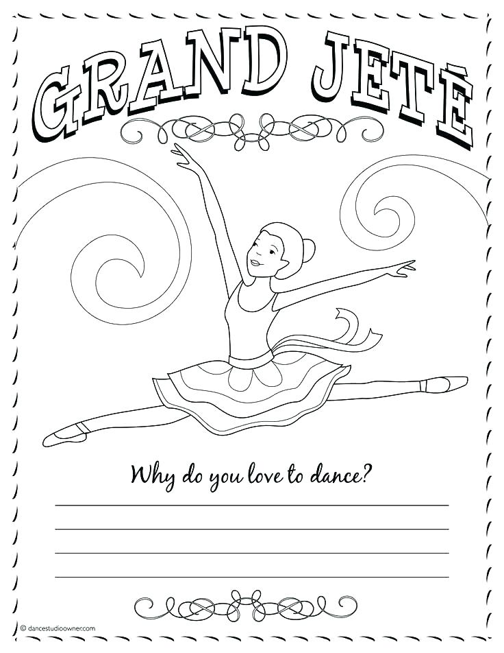 736x952 Dance Coloring Pages Ballet Dancer Coloring Pages Free