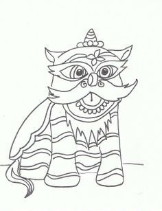 236x307 Chinese New Year Lion Dance Coloring Page Kids Coloring Pages