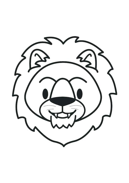 531x750 Head Coloring Page Lion Head Coloring Pages Coloring Page Lion
