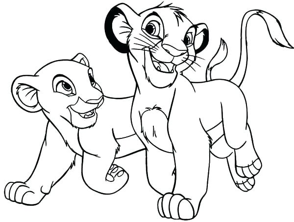 600x454 Lion Guard Printable Coloring Pages Printable Coloring Pages