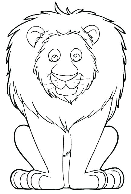 432x637 Coloring Pages Of Lions Lion Head Coloring Page Lion Coloring