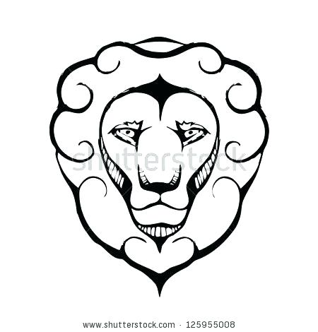 450x470 Lion Head Coloring Pages Coloring Pages Of Lions Coloring Page