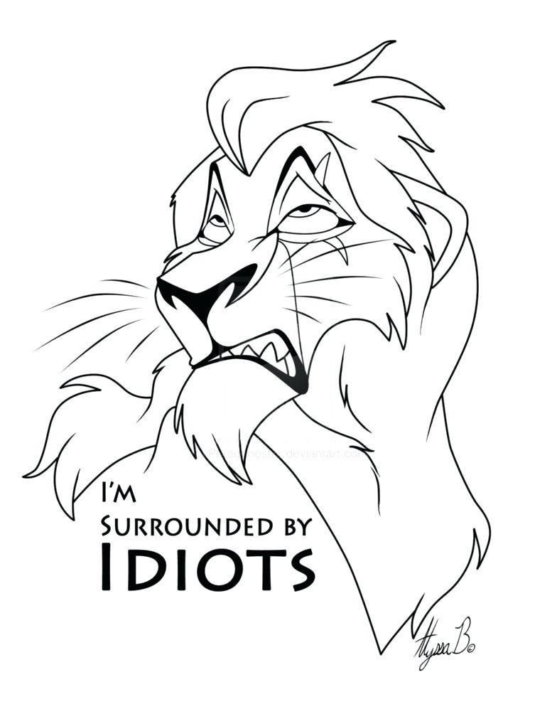 784x1018 Lion King Coloring Pages Scar Kovu And Kiara Simba Nala With Page