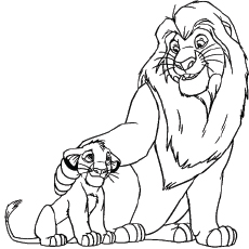 230x230 Top Free Printable The Lion King Coloring Pages Online