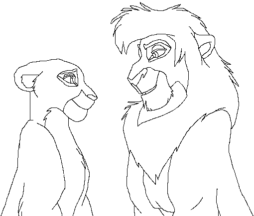 Lion King Coloring Pages Kovu At Getdrawings Com Free For Personal