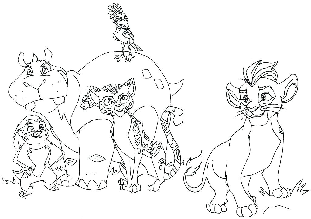 1024x722 Coloring Pages Of Lions Coloring Pictures Of A Lion Pin Drawn Lion