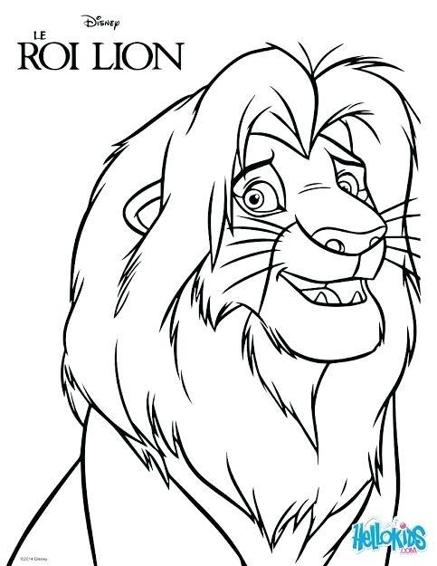483x625 Simba Coloring Page The Lion King Coloring Page Simba And Nala