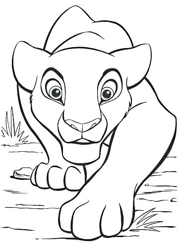 367x500 Nala Coloring Pages And Coloring Pages Coloring Pages Characters