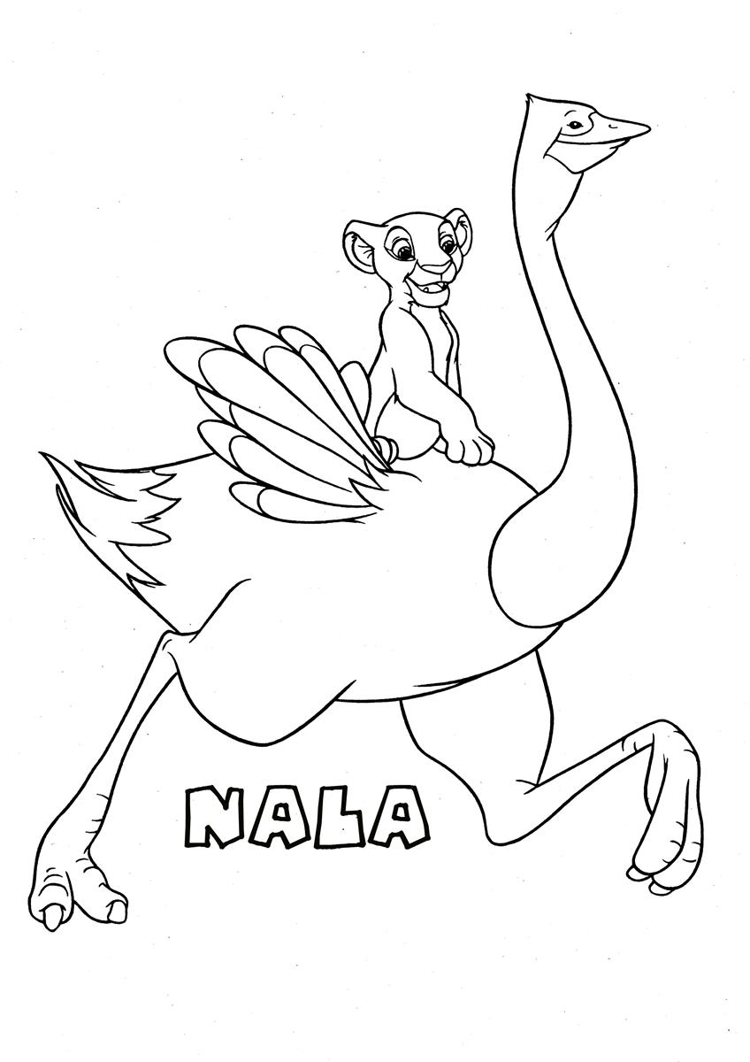 848x1200 The Lion King Coloring Page