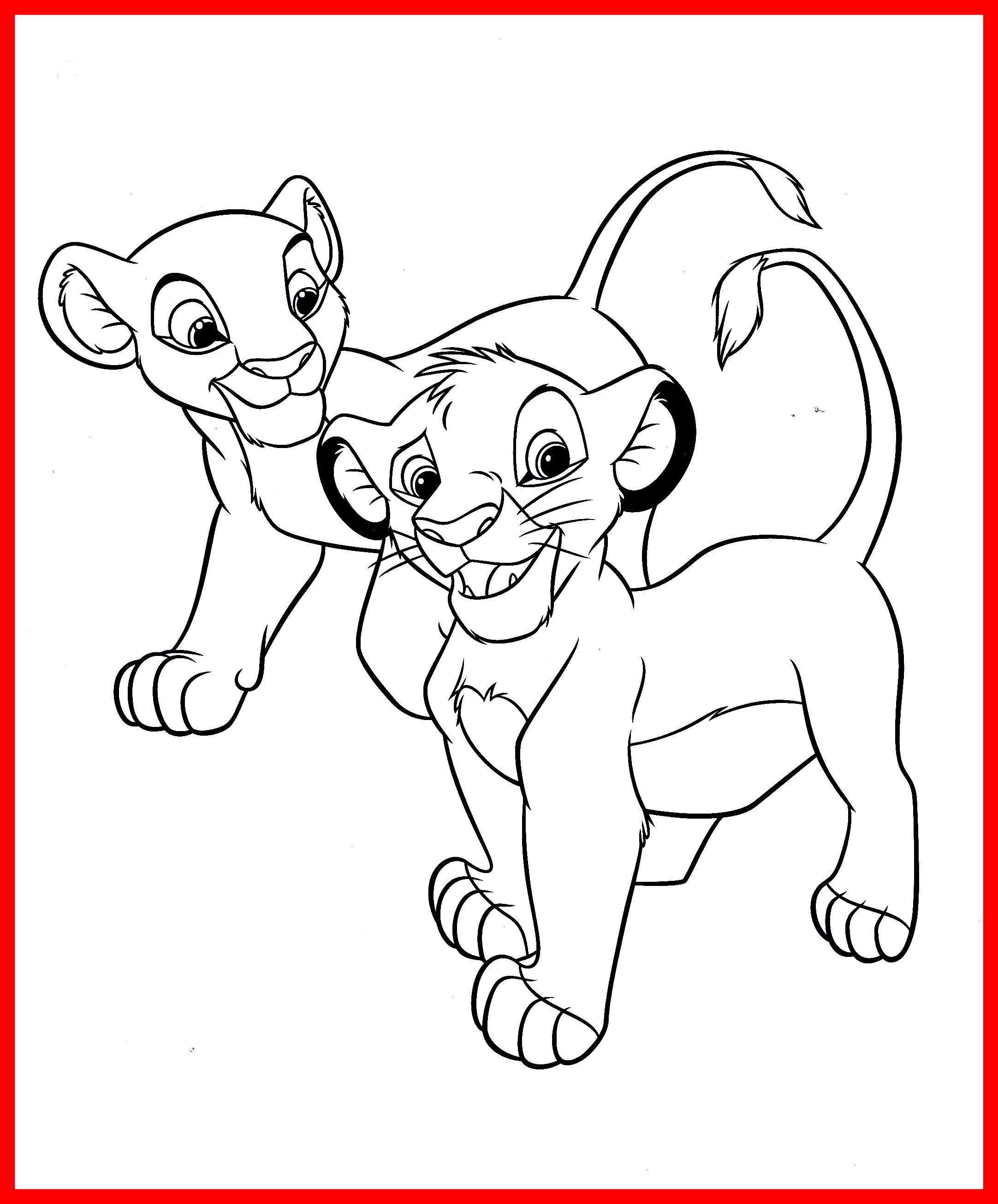 2164x2612 Inspiring Nala Coloring Pages Simba And Picture For Kids
