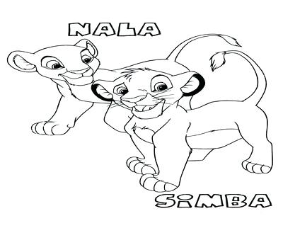 400x322 Lion King Coloring Pages Printable Lion King Coloring Pages Simba
