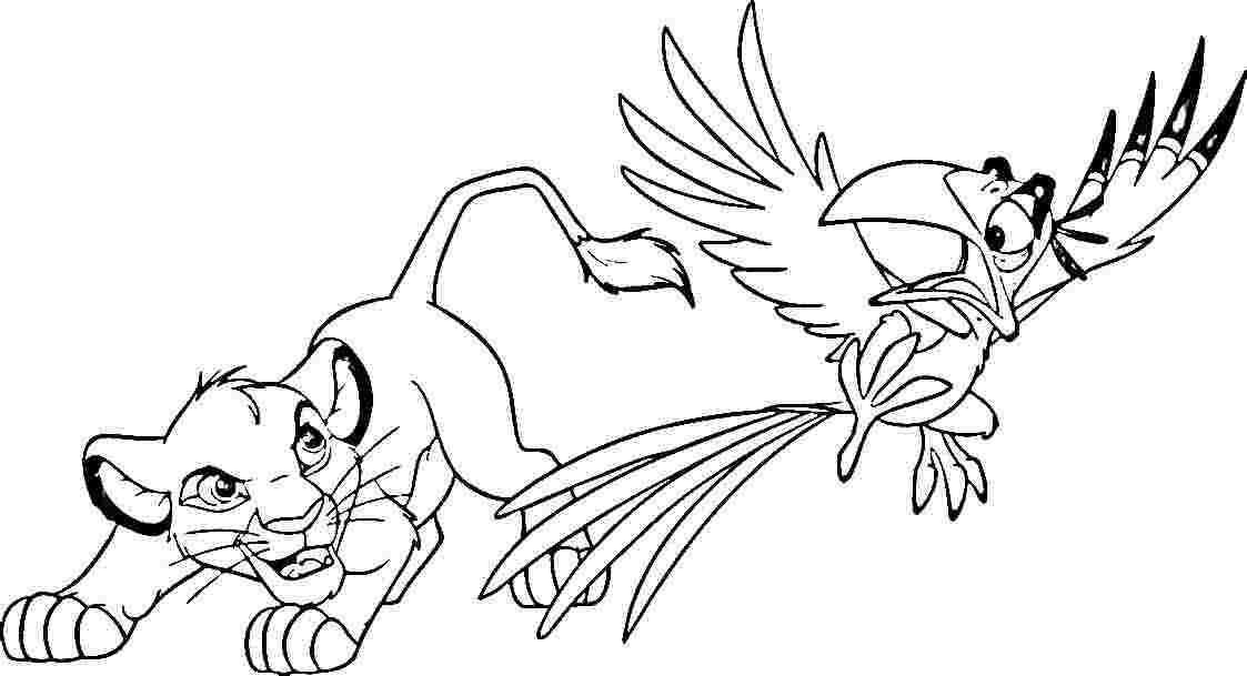 1123x609 Simba Coloring Pages