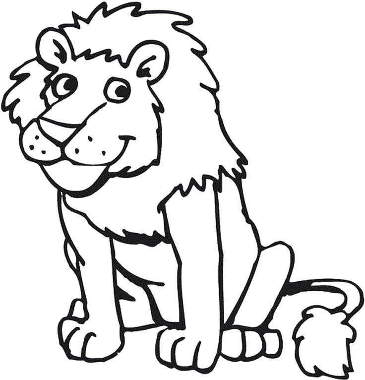 736x766 Lion King Color Pages Lion Coloring Pages To Print Printable Lion