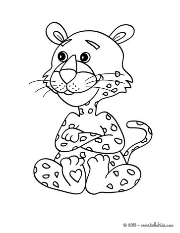 363x470 Lioness With Lion Cub Coloring Pages