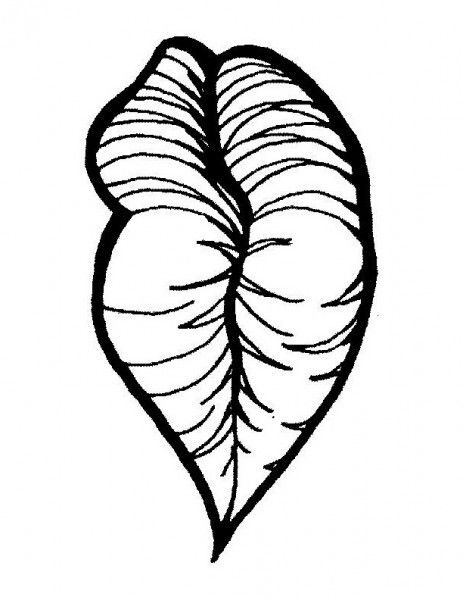 Lips Coloring Page