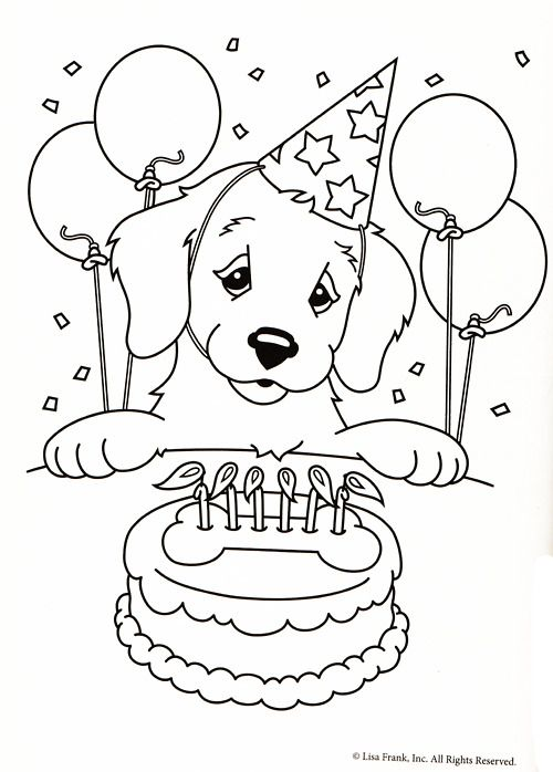 Lisa Coloring Pages