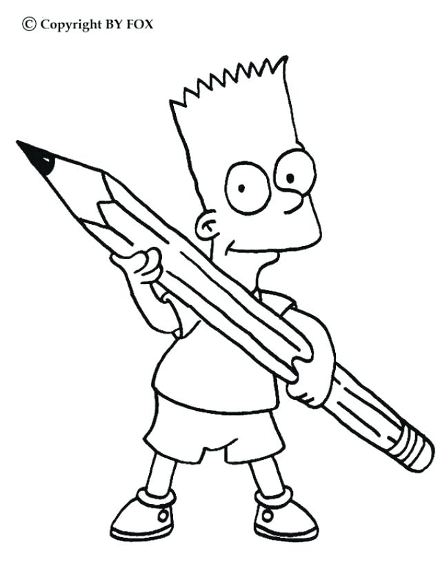 638x850 Pencil Coloring Page More The Coloring Sheets On Free Coloring