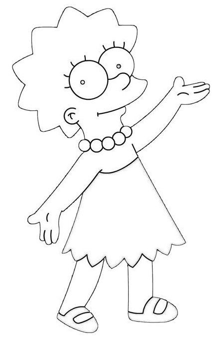447x677 The Simpsons Lisa And Sewing Rooms