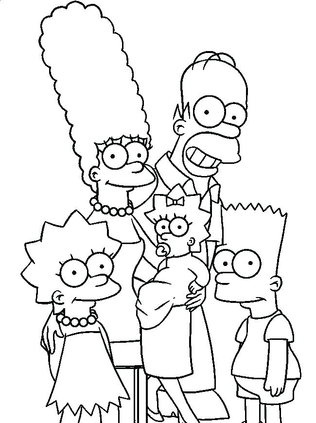 650x870 Coloring Pages Printable Free Coloring Bart Simpson Coloring Pages