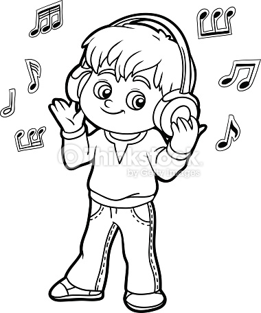 380x456 Listening Coloring Pages Lovely Coloring Book Little Boy Listening