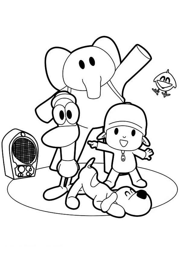 The Best Free Listening Coloring Page Images Download From 50 Free