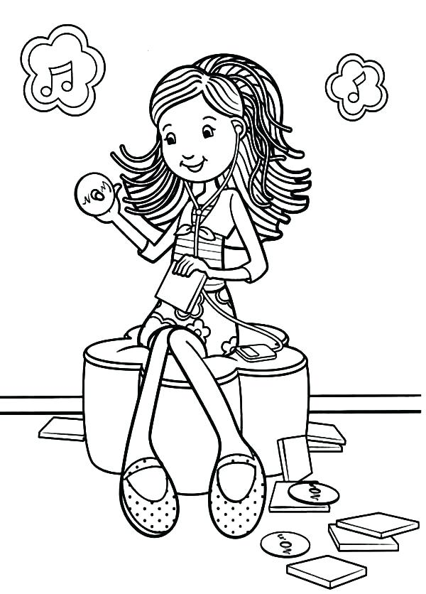 600x836 Word Girl Coloring Pages Groovy Girl Coloring Pages Groovy Girls