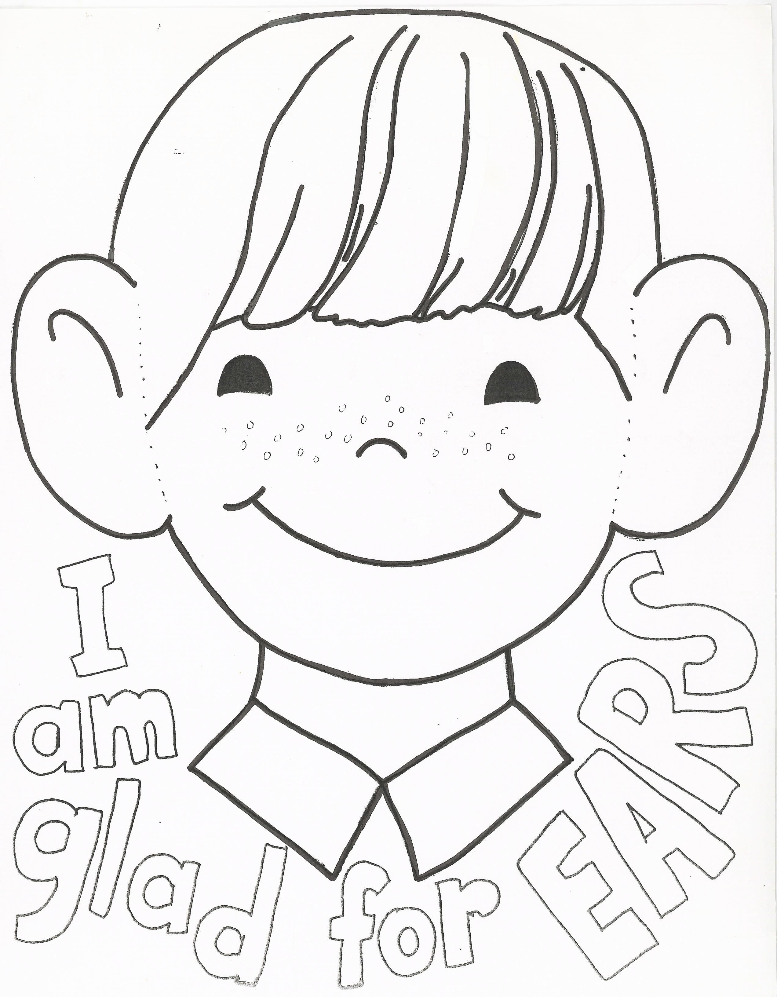 2544x3264 Coloring Pages For Listening Free Download Colouring Throughout