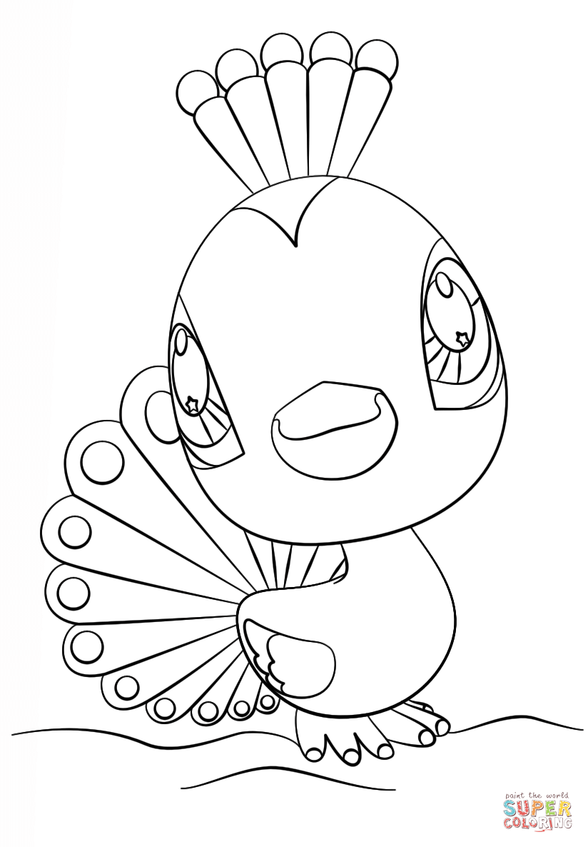 Litlest Pet Shop Coloring Pages At Getdrawingscom Free