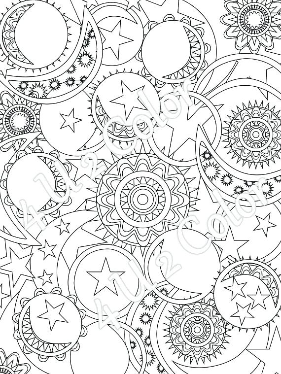 570x759 Sun And Moon Coloring Pages Sun And Moon Coloring Pages Printable