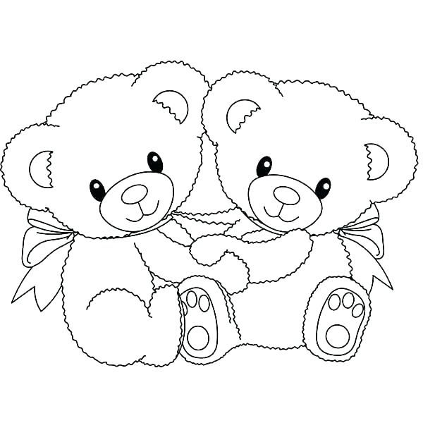 600x600 Little Bear Coloring Pages Grizzly Bear Coloring Page Info Within